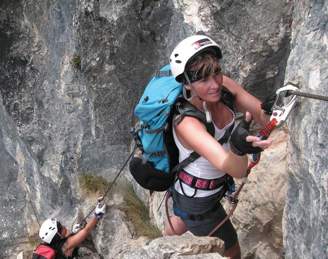 Klettersteig Bad Ischl : Katrin klettersteig
